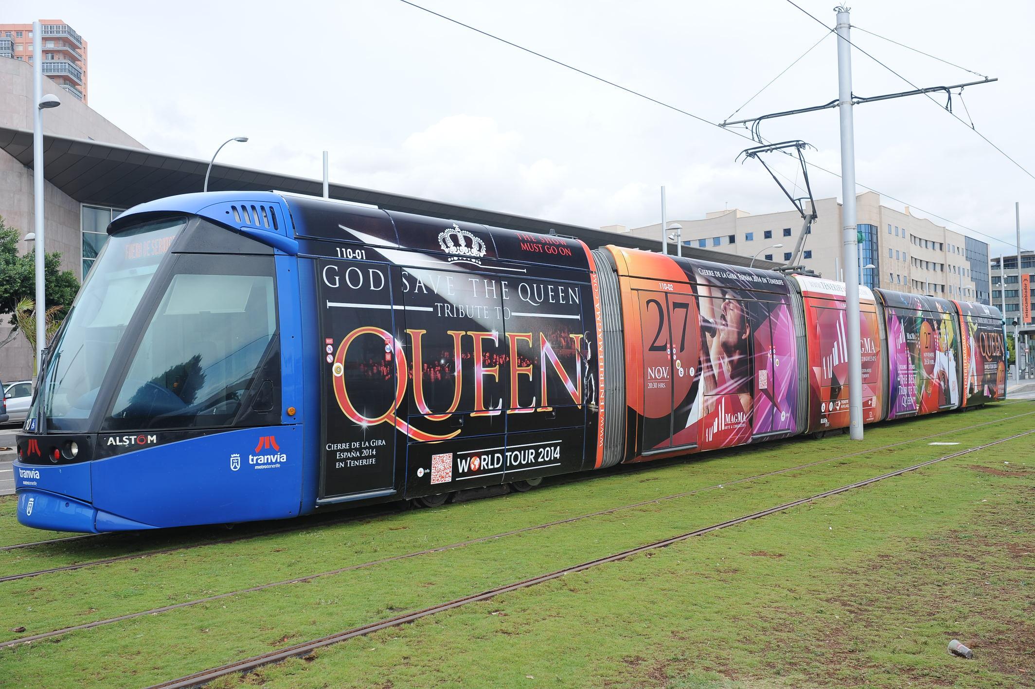 El tranvía de Queen