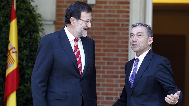Rivero Baute - Paulino - 05 - Con Mariano Rajoy