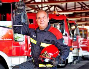 José Antonio Monago - De bombero