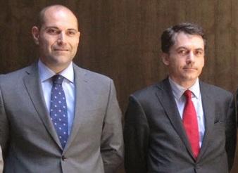 José Joaquín Bethencourt con Alfondo Juan Torres