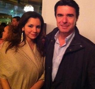 José Manuel Soria con Olga María Henao