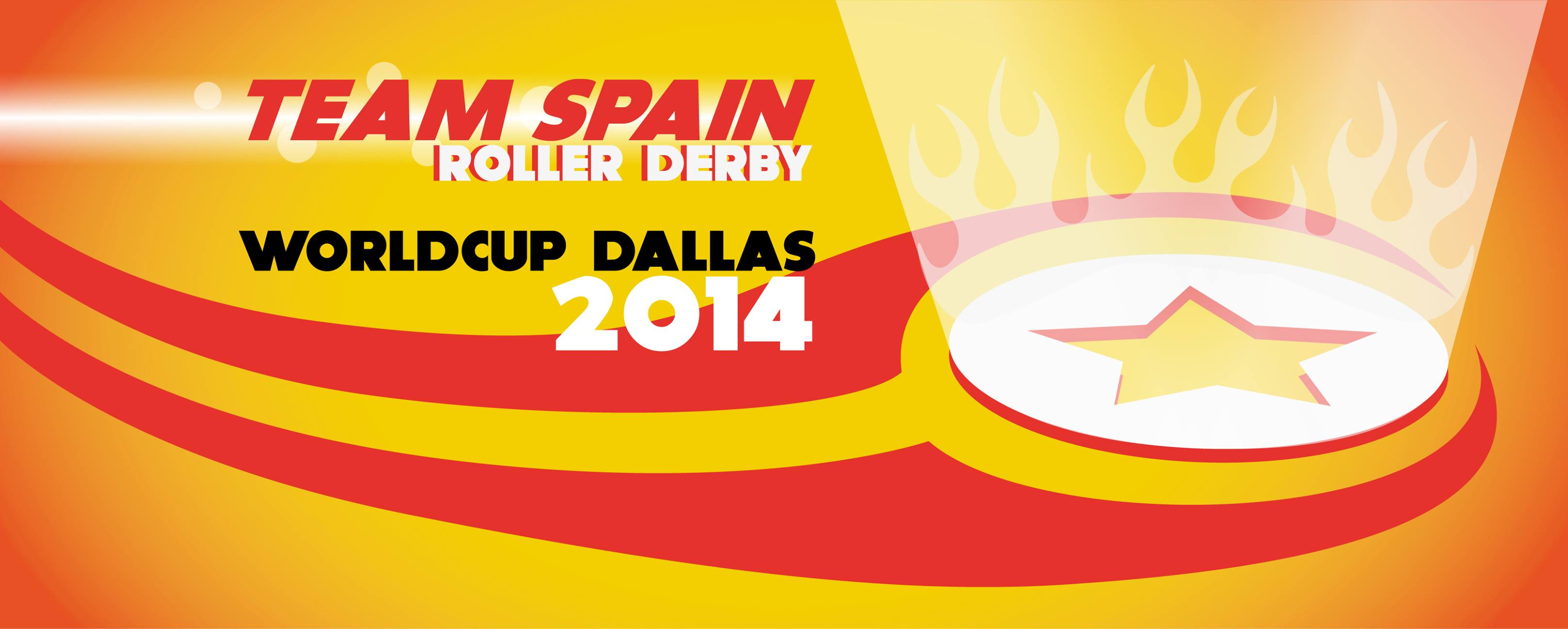 LOGO DE LA ROLLER DERBY WORLDCUP DALLAS 2014