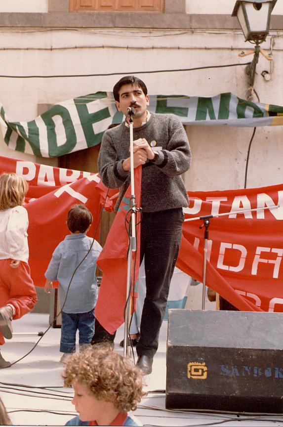 Elecciones Canarias Román Rodríguez Rodríguez
