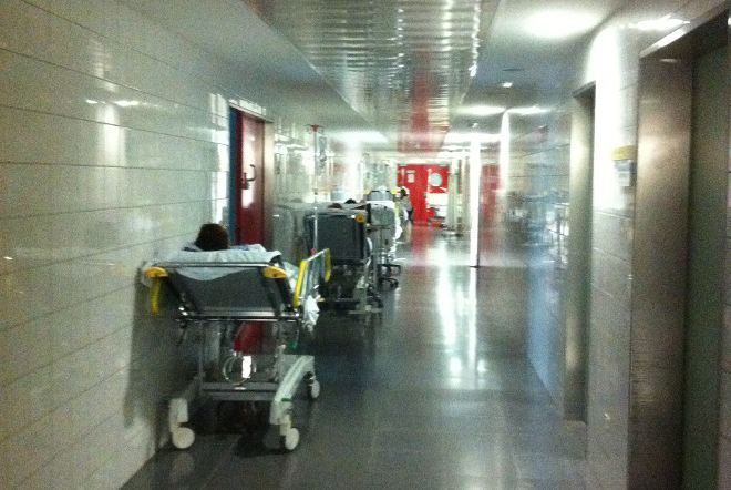 Foto 2.- Servicio de Urgencias del HUC