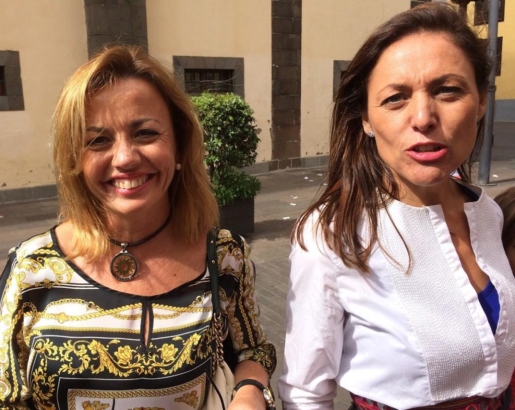 FOTO 2.- Ana zurita y Cristina Tavío