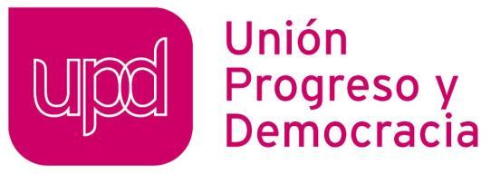 FOTO 9.- Logotipo de UPyD