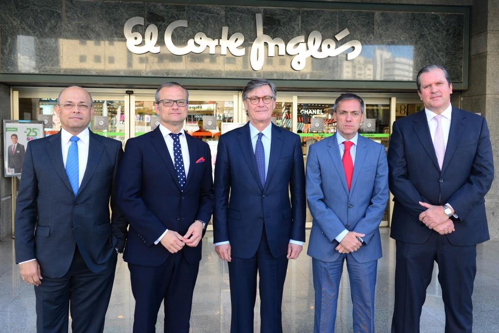 FOTO 1.- El Corte Inglés - Directiva Regional