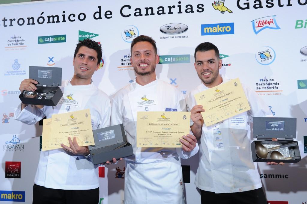 FOTO 6.- Cocineros ganadores el año 2014