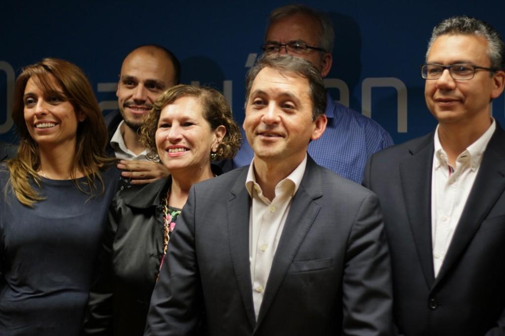 FOTO 7.- José Manuel Bermúdez y equipo
