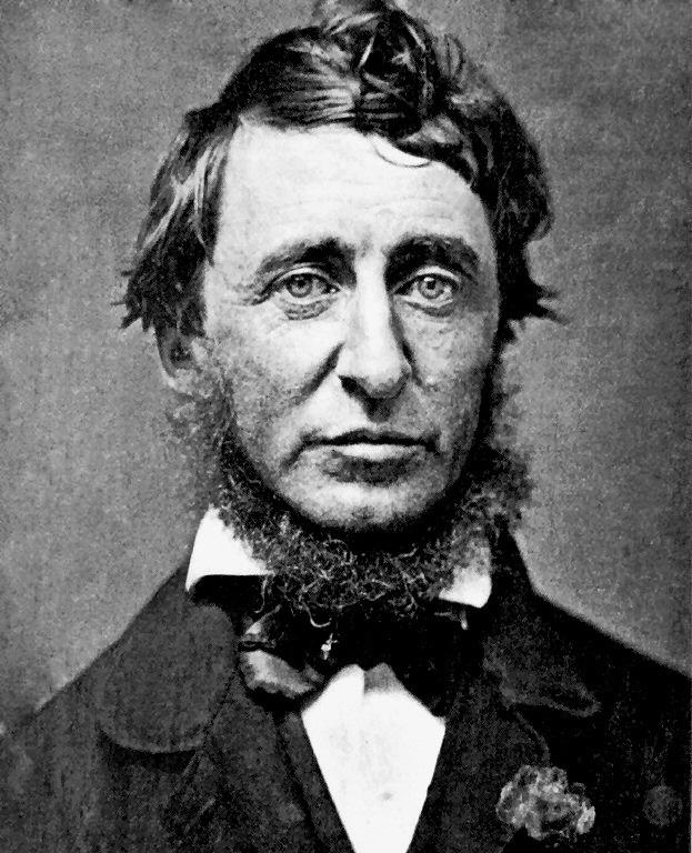 FOTO 1.- Henry David Thoreau