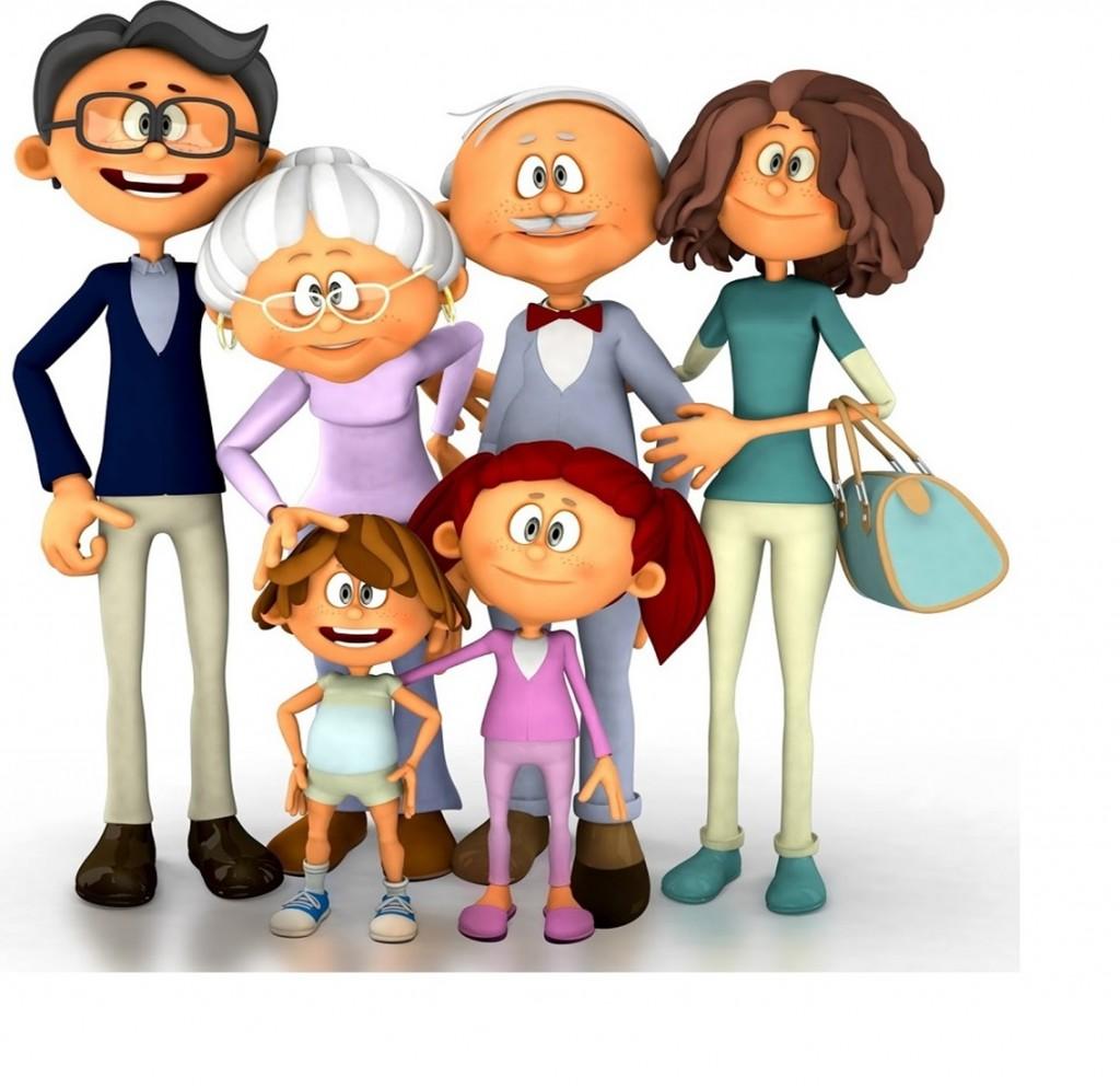 FOTO 2.- Abuelos con la familia