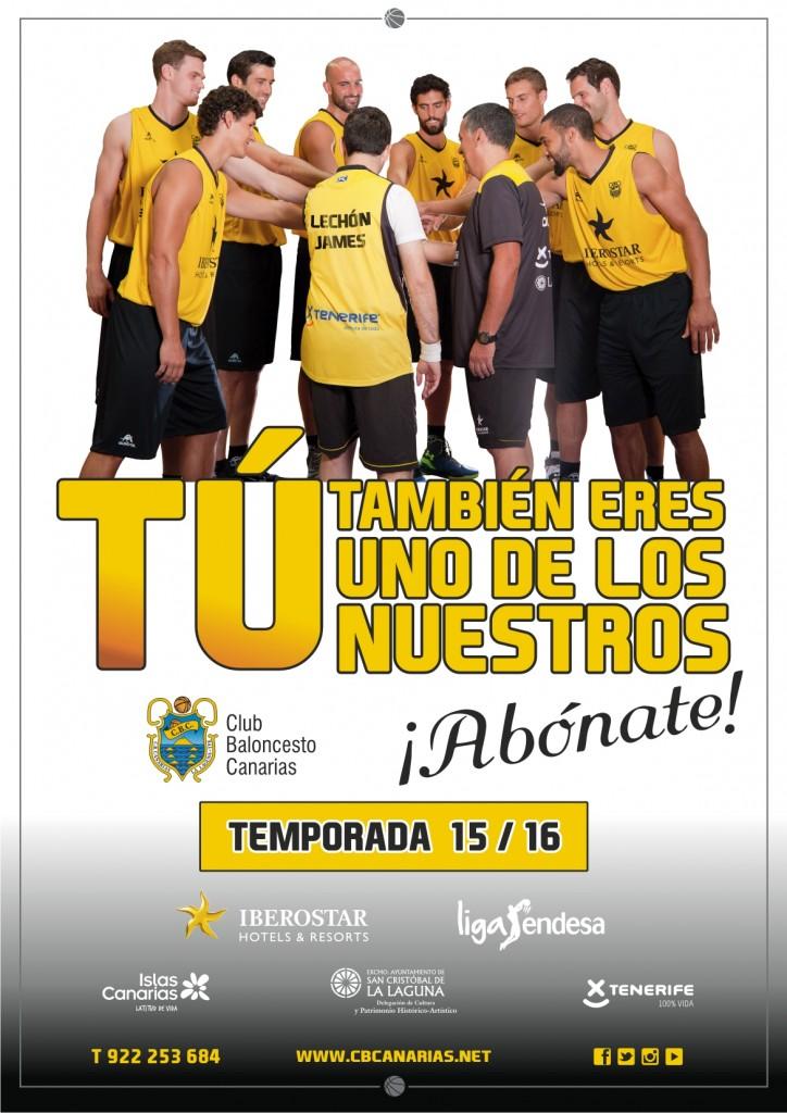 FOTO 3.- Cartel Campaña Abonados