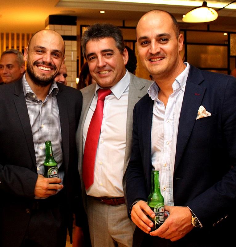 FOTO 7.- José Rouco, Alfonso Cabello y Ezequiel