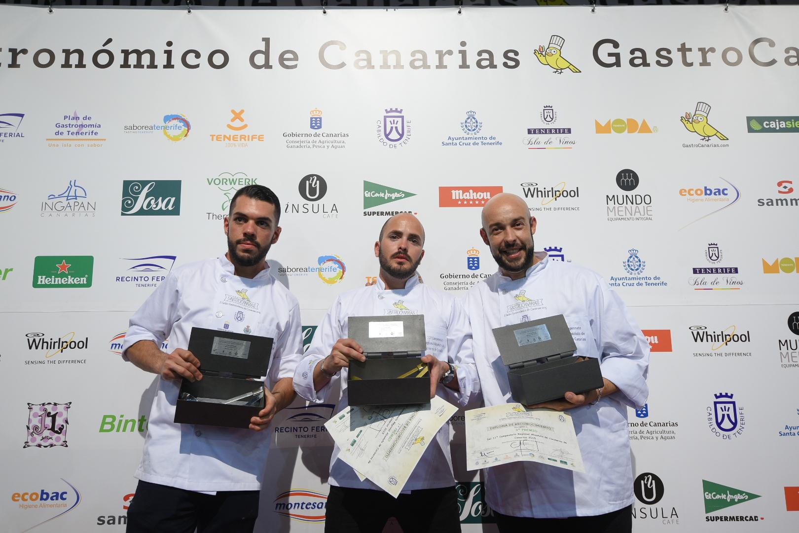 FOTO 6.- Podio Cocineros 2015