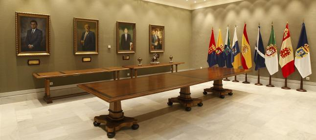 FOTO 1.- Galería del Parlamento