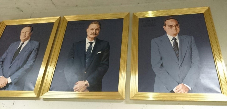 FOTO 2.- Presidentes almacenados