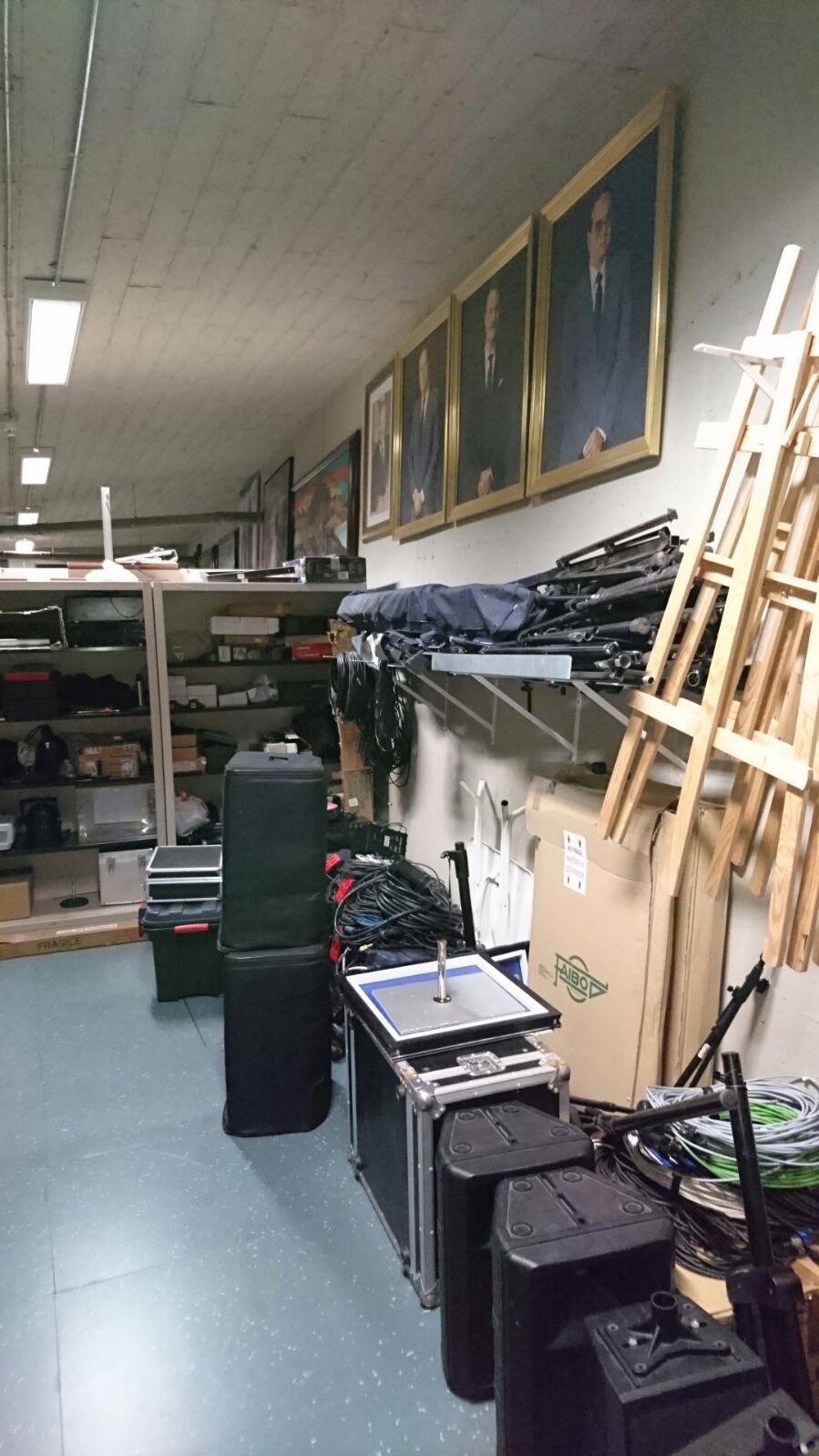 FOTO 3.- El almacén presidencial