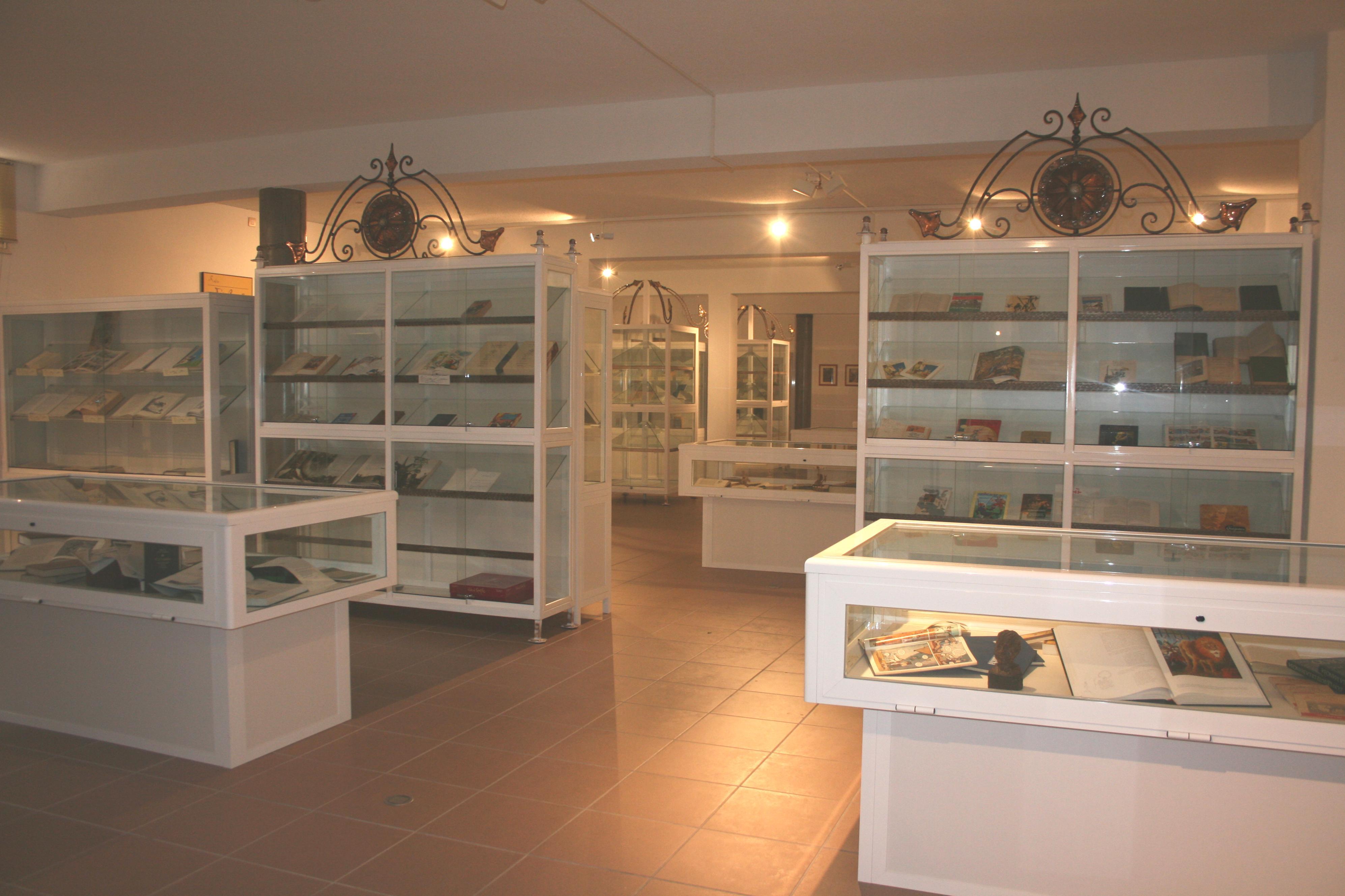 FOTO 3.- MUSEO DE EL QUIJOTE EN GÜÍMAR - INTERIOR