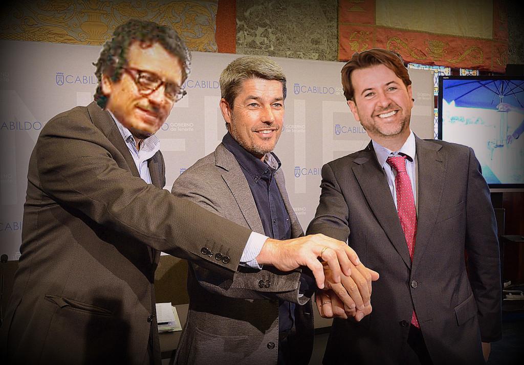 FOTO 3.- CARLOS CON JESÚS Y ALBERTO