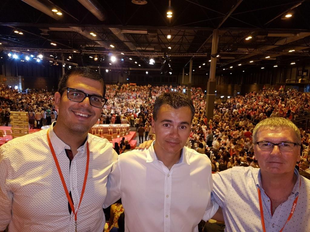 FOTO 2.- CONGRESO PSOE 2017
