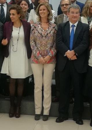 FOTO 3.- PACORRO Y MINISTRAS