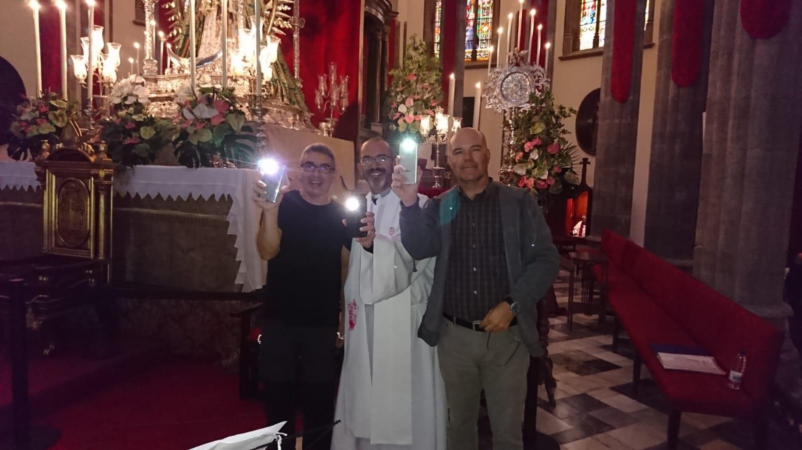 FOTO 4.- CHITO, AGÜÍN Y ANTONIO