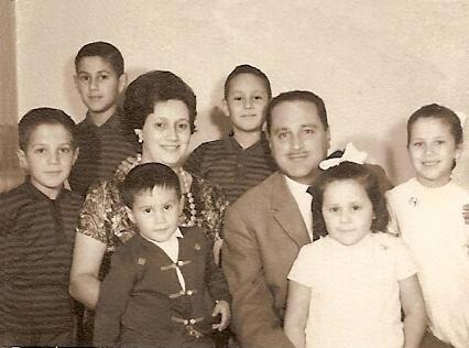 FOTO 5.- FAMILIA CLAVIJO